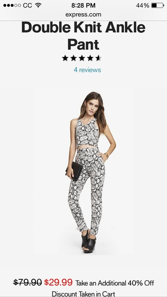 pants trendy style cute outfits fashion crop tops crop matching set printed pants floral