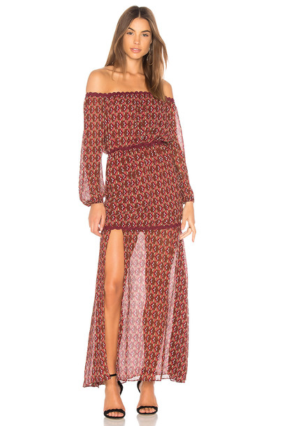 Finders Keepers dress maxi dress maxi off the shoulder