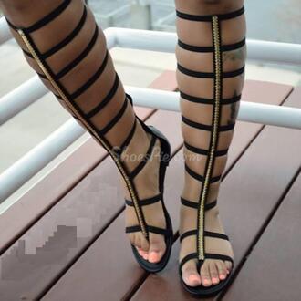 shoes sandals gladiators black sandals gold black sandals flat gladiator sandals knee high gladiator sandals style high heel sandals beach shoes