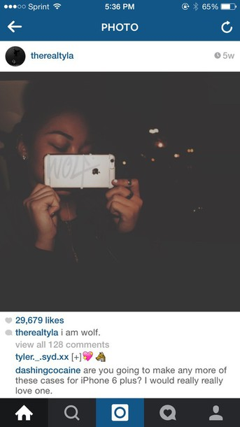 phone cover wolftyla iphone