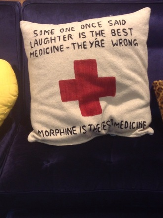 home accessory pillow funny