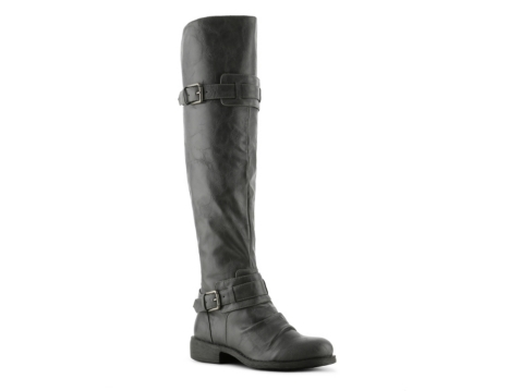 Diba Combat Over The Knee Boot | DSW