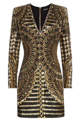 dress cocktail dress gold