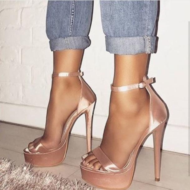 shoes, heels, platform high heels