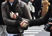 jacket,leather,brown jacket,grey jacket,leather gloves,mens leather jacket,mens accessories