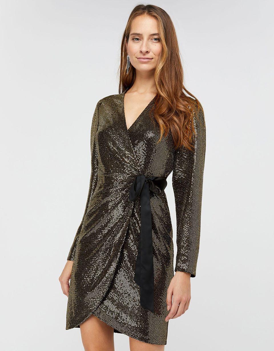 Trinity Tux Sequin Dress