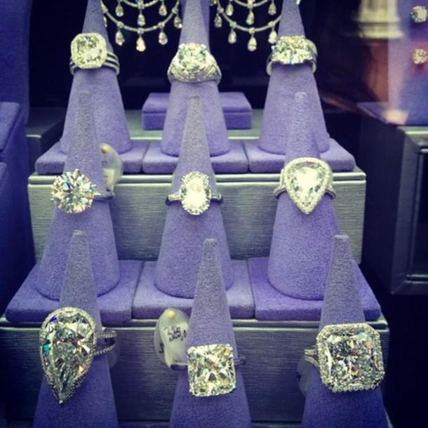Jewels big diamond rings wedding wedding rings huge silver diamonds de
