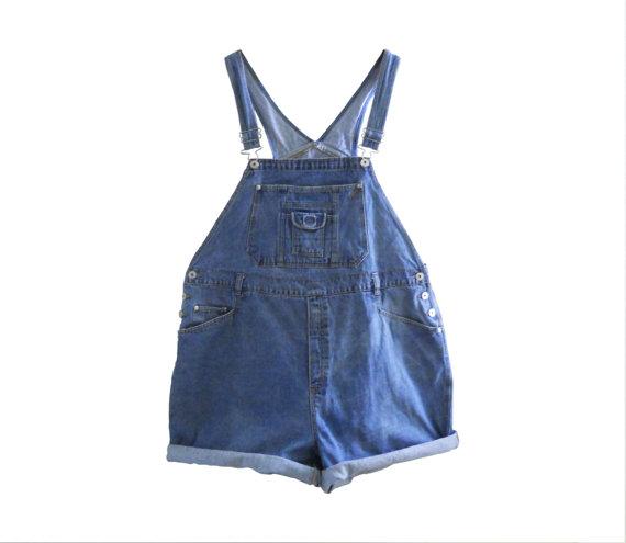 Plus Size Overall Women Overalls Denim Overall by TheVilleVintage