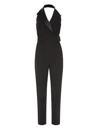 jumpsuit satin black