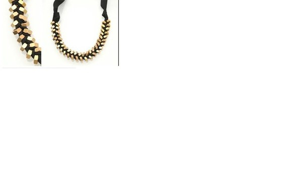 jewels black jewels necklace gold