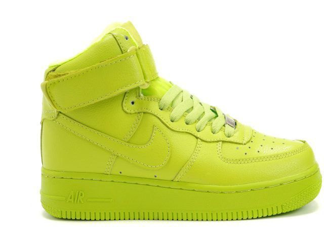 Candy paint nike air force 1 customs in all red, blue, green, pink, etc, any color. in high, mid, or low styling