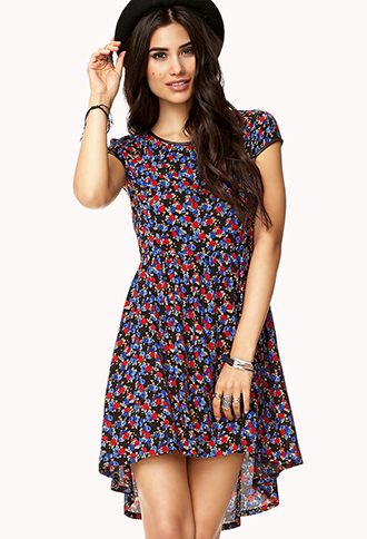 Rosebud Summer Dress | FOREVER21 - 2000074570