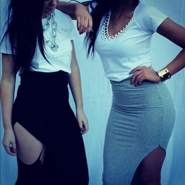 skirt maxi skirt shirt