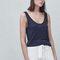 Basic hemdje - t-shirts voor dames | mango nederland