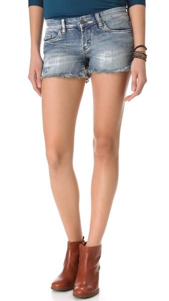 Denim Cutoff Shorts | SHOPBOP
