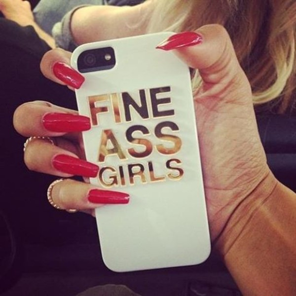 jewels white gold iphone phone cover cover fine butt girl fine ass girls nail polish phone cover phone cover