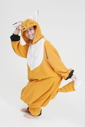 coat,fox kigurumi,animal onesies,kigurumi animal onesies
