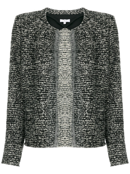 Iro jacket women mohair cotton black