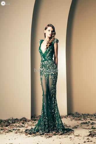 dress esmerald green fabolous evening/homecoming dresses evening gown evening dress