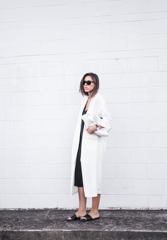 modern legacy coat dress bag shoes sunglasses jewels