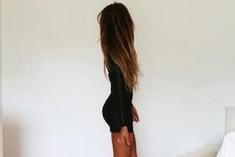 dress black ombre clothes black dress