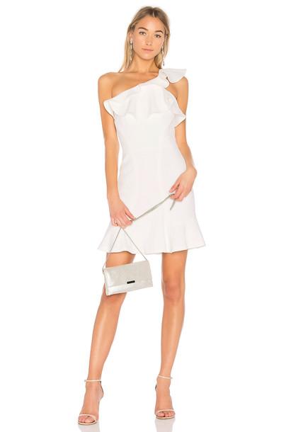 Rebecca Vallance dress mini dress mini white
