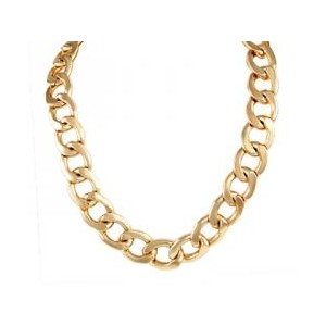 Cuban Link 15mm THICK gold plated Chain - Polyvore