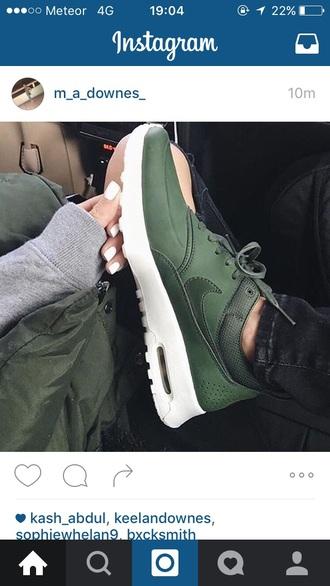 shoes sports shoes khaki nike