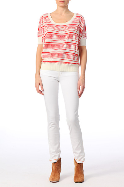 Jean skinny Sunny Molly Blanc  Wrangler sur MonShowroom.com