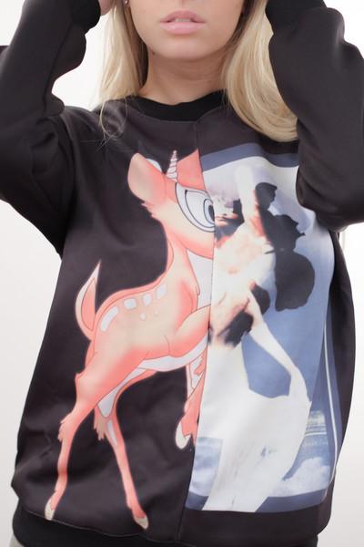 Givenchic bambi sweater – glamzelle