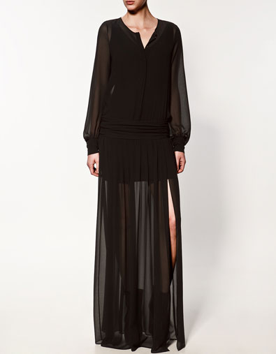 ROBE CHEMISE AVEC CEINTURE LARGE - Robes - Femme - ZARA France 8bc91b6f21b