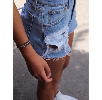 shorts denim shorts jeans style high waisted jean shorts