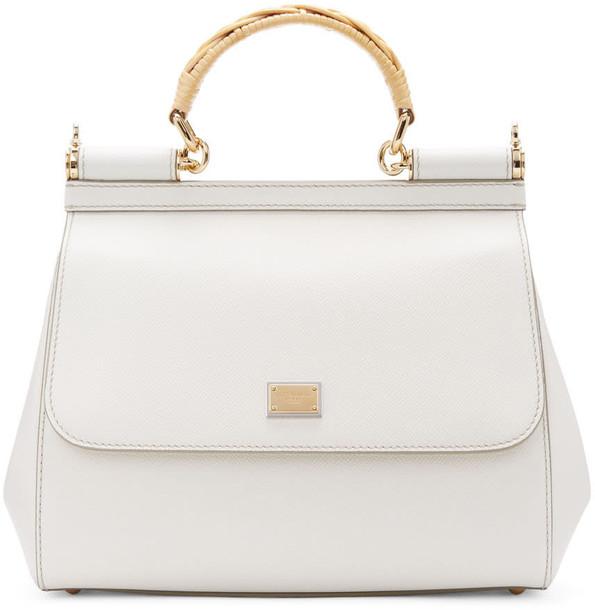 Dolce and Gabbana bag white