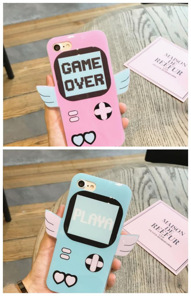 iPhone 6/6s/7 4.7'',6Plus/6sPlus/7 Plus 5.5'' Game Boy with Wings Case: Best Price in Malaysia