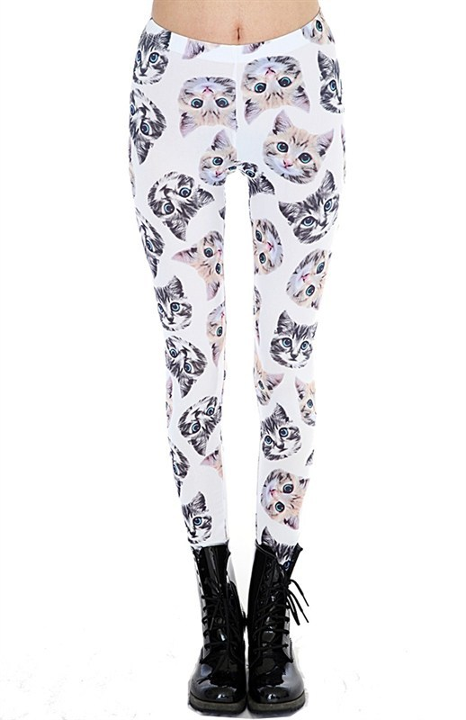 KITTY LEGGINGS | JUNASCLOSET