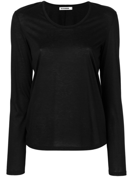 top women cotton black