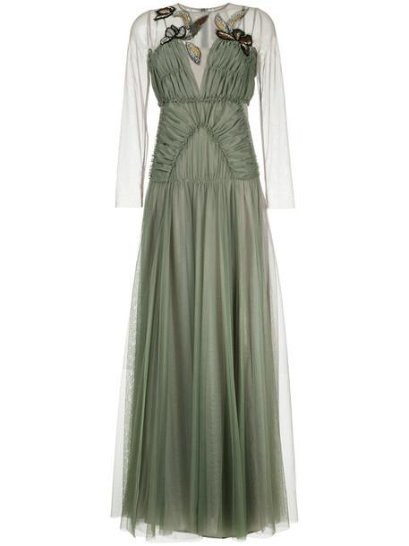 Antonio Marras dress tulle dress women green