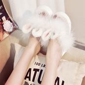 shoes,white sandals,kawaii sandals,platform sandals,kawaii shoes,fairy kei,bunny shoes,bunny ears,bunny,rabbit ears,fur,fur platforms,fur sandals,jfahsion,harajuku,japanese fahion,wego,wc,liz lisa,amo,urban outfitters,omighty,storenvy,tumblr,tumblr outfit,tumblr shoes,tumblr gilr,tumblr girl,dejavucat