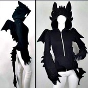 jacket,clothes,hoodie,toothless,howtotrainyourdragon,dreamworks,dragon,dragonhoodie,geek,how to train your dragon,black,toothless hoodie,dress,anime,cosplay