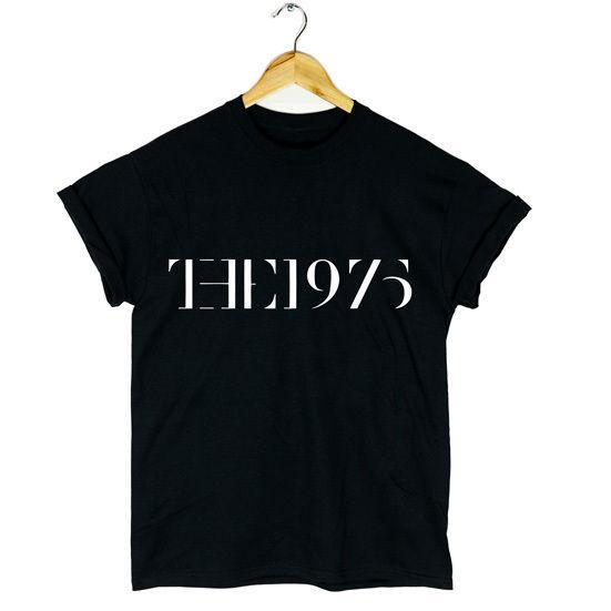 THE 1975 T SHIRT MUSIC INDY ROCK FACEDOWN MENS WOMANS ALBUM NEW