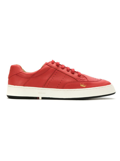 OSKLEN women sneakers lace leather red shoes