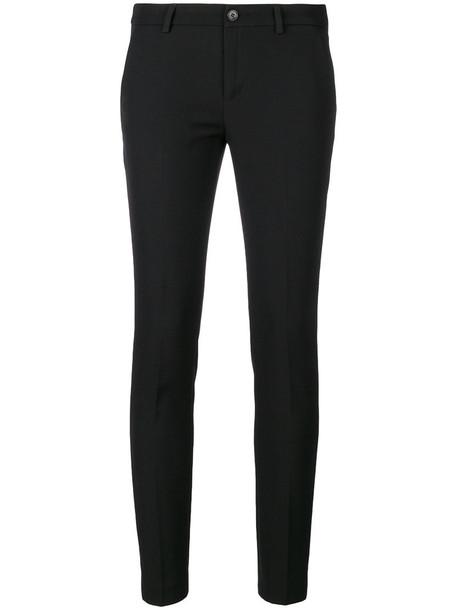LIU JO women spandex black pants