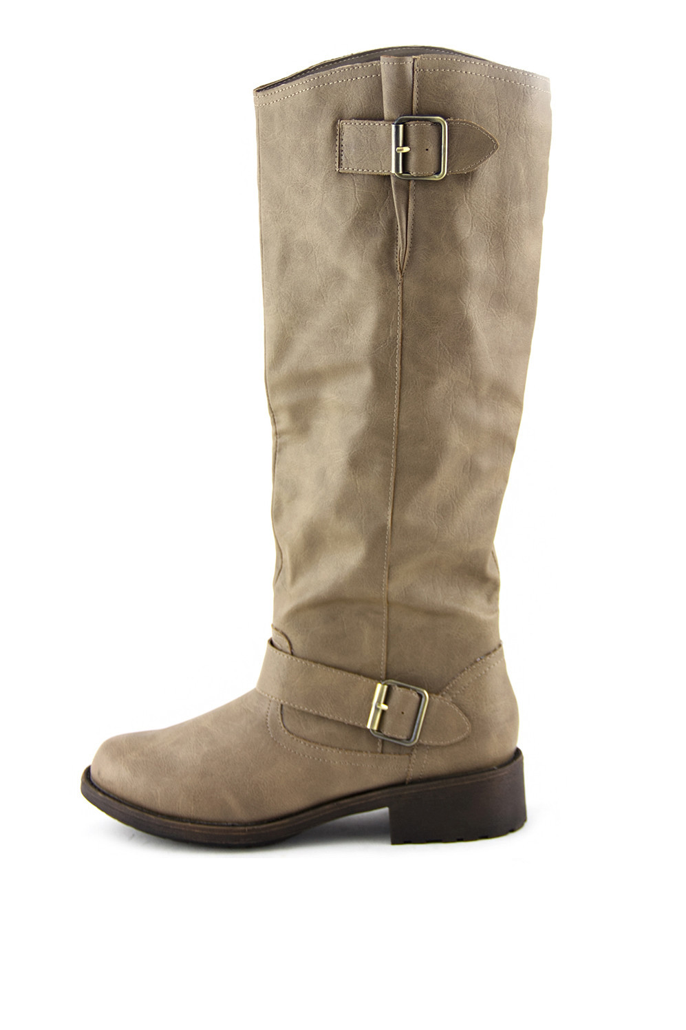 RIDING KNEE BOOT - Taupe | Haute & Rebellious