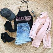 sweater,ootd,fashion,style,spring,summer,outfit,denim,crop,jacket,bellexo