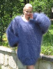 dress,hand,knit,made,mohair,fluffy,summer,supertanya,soft,slouchy