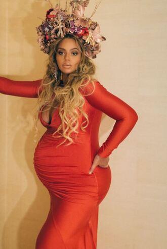 dress bodycon dress maternity beyonce