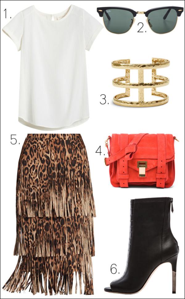 le fashion blogger top sunglasses jewels bag