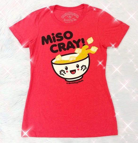 shirt miso soup japanese grunge soft grunge kawaii grunge