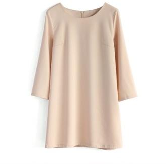 blouse dress shirt nude dress