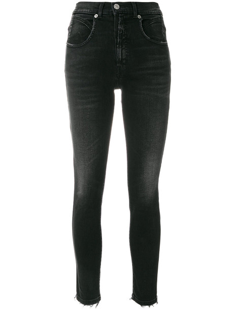 Adaptation jeans cropped jeans cropped women spandex cotton black